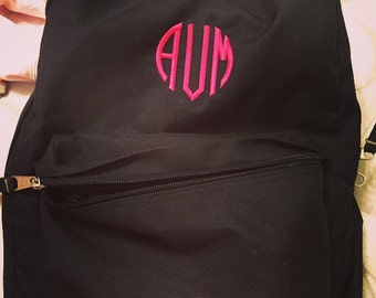 Backpack with embroidery *custom*