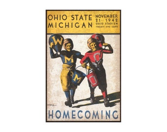 Ohio State vs Michigan Sign