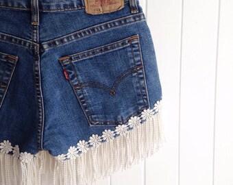 Upcycled shorts