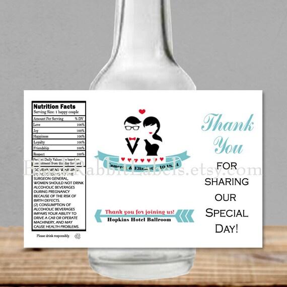 Personalized Liquor Bottle Labels 100% By BlackRabbitLabels