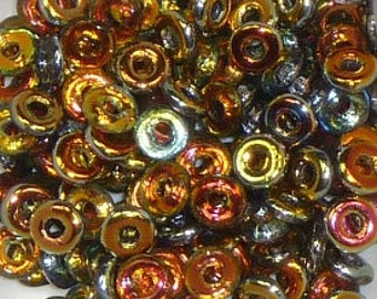 O Beads - #6 Crystal Marea 3mm - 5 grams