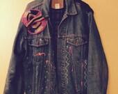 Rocker Kid Denim Jacket / 90s