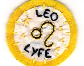 Zodiac Sign Patches