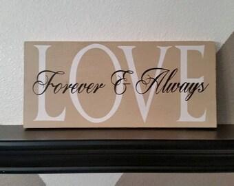 Love, Custom signs