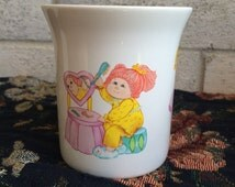 Vintage 1984 Cabbage Patch Kids Coffee Mug