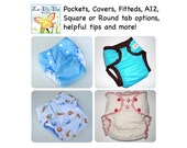 Cloth Diaper PDF Sewing Pattern