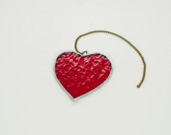 Little Heart Suncatcher (Red)
