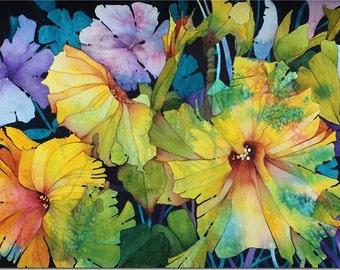 Petunias 8x10 Giclee