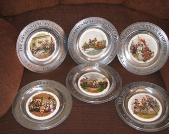 American Revolution Commemorative Plates