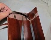 Locksmith Solf PU (Split) Leather Tool Holder Pouch/Case Brown, blue, black