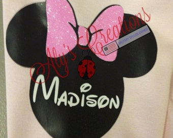 Mickey/Minnie inspired Toddler Shirt