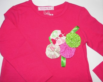 Girls T.shirt or babies romper.