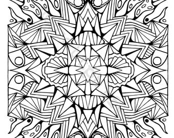 coloring page (This Way and That)