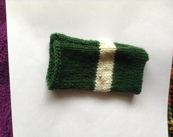Green Knit iPod Sock