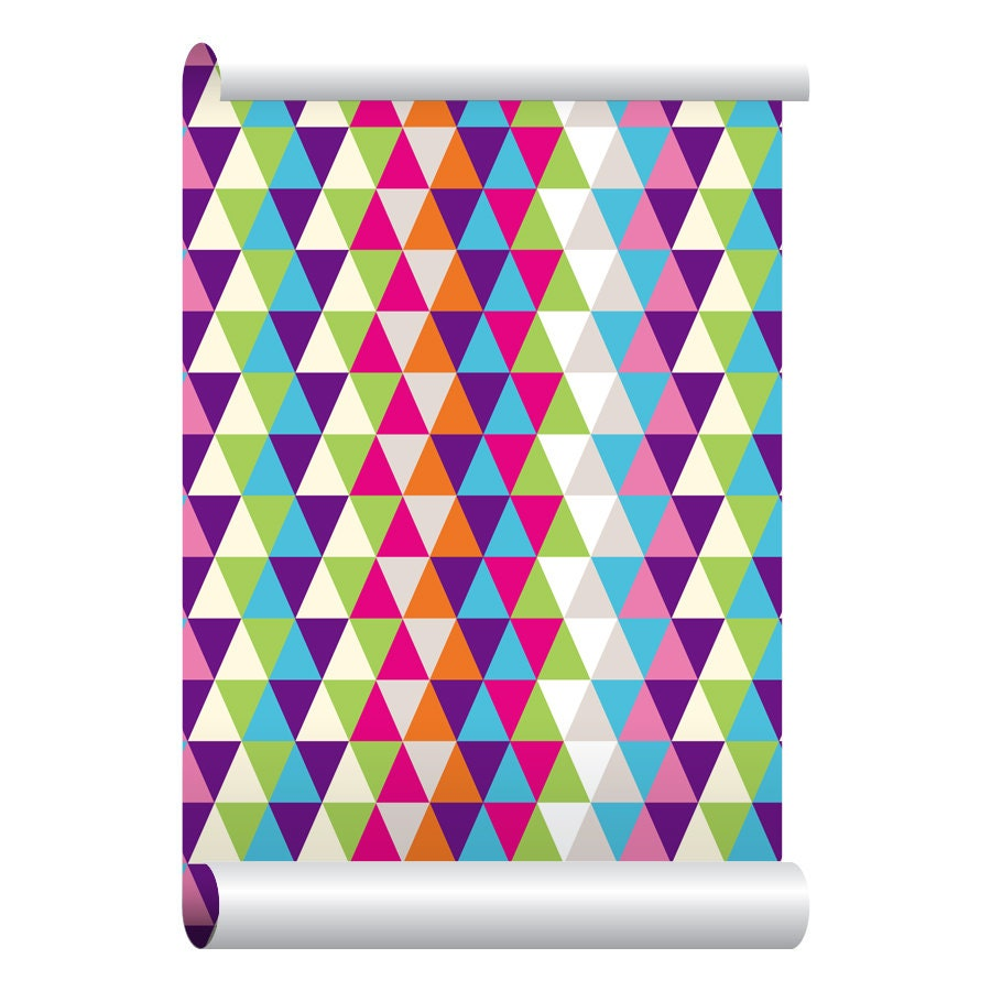 Self adhesive removable wallpaper harlequin multi wallpaper for Wallpaper with adhesive backing