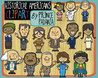 Historical Americans / American History Clip Art