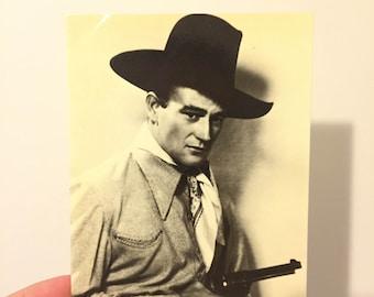 John Wayne postcard