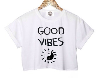 Good Vibes Crop Top