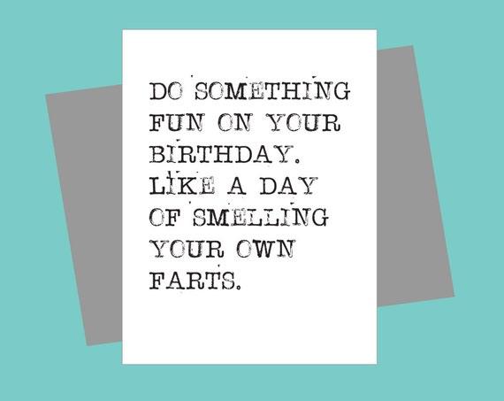funny birthday card fart smelling birthday brother birthday, Birthday card