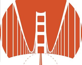 San Francisco Circular Print