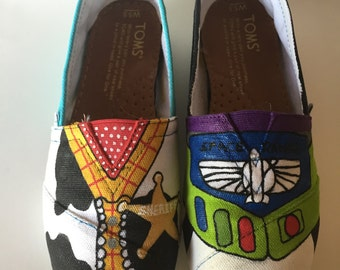 Toy Story Hand Painted Toms