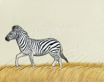 Lure- zebra print
