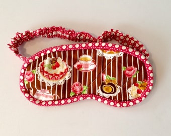 Tea and Cake Sleep Mask