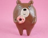 Donut Bear Brooch (011)...