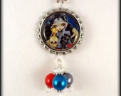 """Jasmine Becket Griffith  """" Sign of Our Parting """"  necklace"""