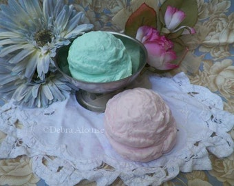My Handmade Ice Cream Scoop Silicone Soap Mold Bath Bomb Mold Candle Mold