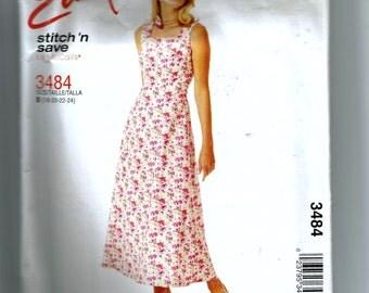 McCall's Misses' Dress Pattern 3484