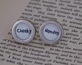 Cheeky Nandos cufflinks (161)