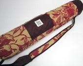 Yoga Bag-Woven Floral Print