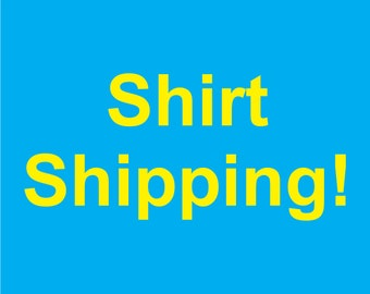 Shipping Charge Shirt
