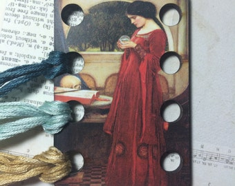 The Crystal Ball by Waterhouse wooden embroidery floss sorter thread keep