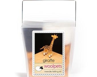 Giraffe Needle Felting Kit