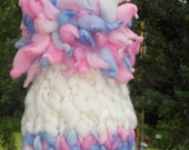 Cotton Candy Giant Pom Baby Hat Photography Prop Ready to Ship (SALE)