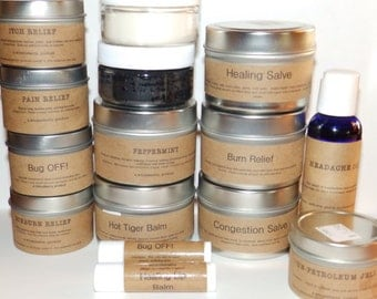 First Aid Set - All Natural