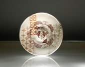 Small Plate - Hipster Sparrow - Ring Dish