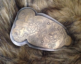 Ancient Viking Belt Buckle