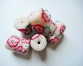 Polymer Clay Big Beads for Focal or Accessories