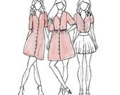 Darling Ranges - Sewing Pattern - Megan Nielsen
