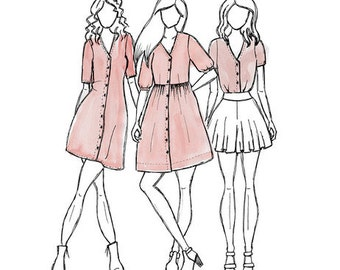 Darling Ranges - Sewing Pattern - Megan Nielsen