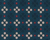 Cotton + Steel Picnic - picnic blanket teal - fat quarter