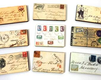 Mini Envelopes - Wood Craft Pieces