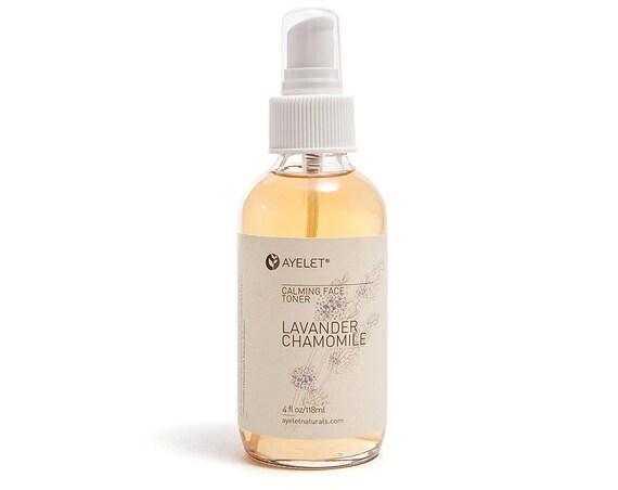 Lavender Rose Face Toner| Dry Skin Facial Mist| PH Balance Toner| Astringent Hyaluronic Acid| Mature Skin Toner| Sensitive Skin Toner| 4 oz