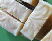 Cocoa Butter Handmade Cold Process Soap Sensitive Skin Fragrance Free