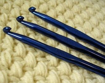 Crochet Hook Aluminum Metal Size 7mm K/L