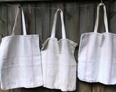 Grainsack Market Bag - Heavy Cotton Tote Bag - Market Tote - Eco Grocery Bag - Reusable Shopping Bag