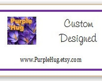 Hang tags - Product tags, Pricing tags, Calling card tags - Custom personalized, color laser printing - 1.5 x 2.75 cardstock